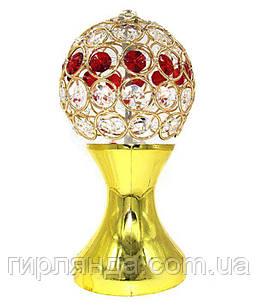 Кубок-світильник КУЛЯ З РУБІНАМИ 1863-14