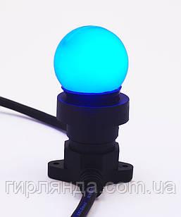 Лампочка LED 3W E-27 синя