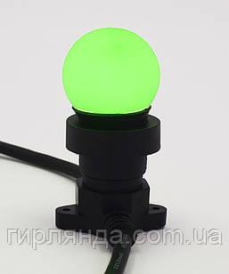 Лампочка LED 3W E-27 зелена