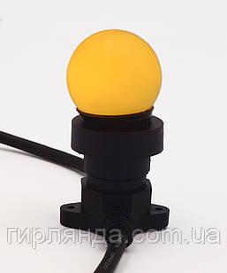 Лампочка LED 3W E-27 жовта