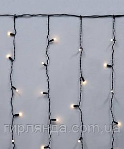 Штора вулична 120 LED 2*1.5м*1.5м біла-тепла