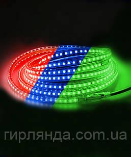 Вулична LED стрічка 5050, 8м, мульті