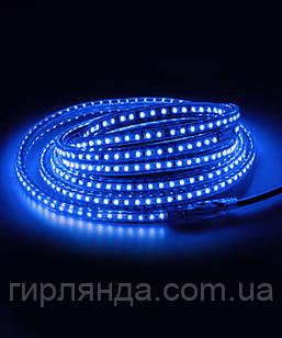 Вулична LED стрічка 5050, 18м, синя
