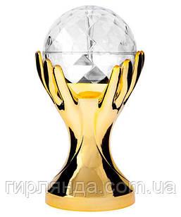 Кубок-світильник  РУКА  FOOTBALL 1863-15