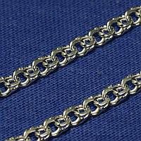 Мужской серебряный браслет Бисмарк плоский (под заказ)