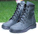 Ботинки женские зимние из натуральной кожи от производителя модель ОУ94105МК, фото 2