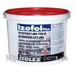 Izofol Flex (Изофоль Флекс) - полимерная гидроизоляционная мембрана (ведро -7кг) - ООО «Блиц Инвест» в Киеве