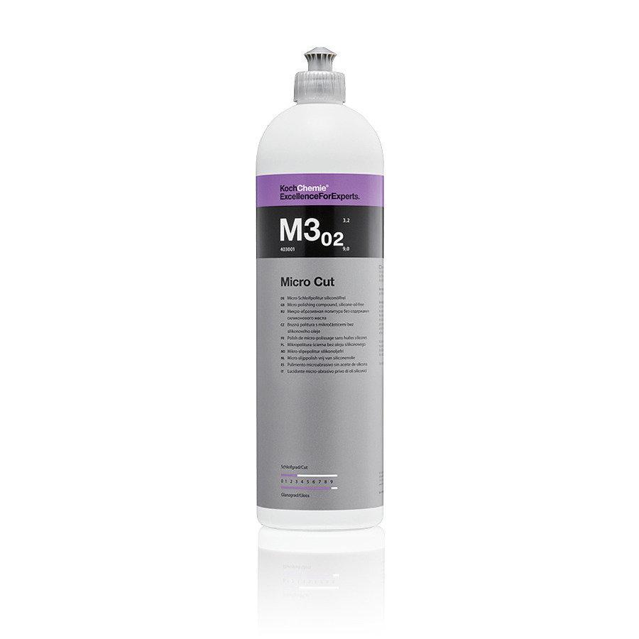 Micro Cut M3.02 микрошлифовальная антиголограмная полировочная паста 1 л
