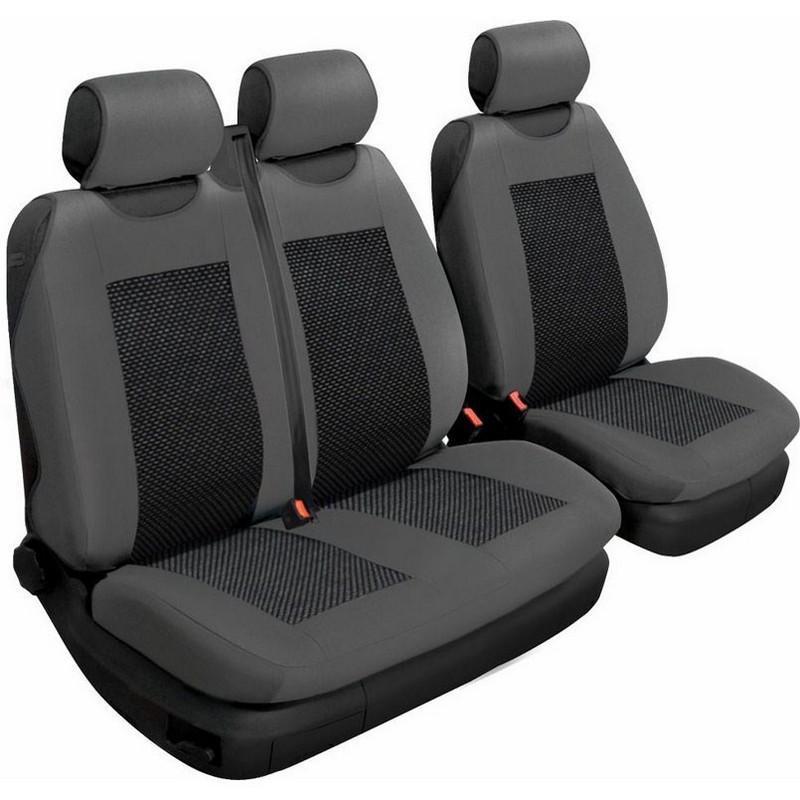 Авточохли універсальні Beltex Comfort 2+1 Тип А графіт без підголівників 53310