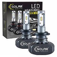 Светодиодные лампы SOLAR H7 12/24V 6000K 4000Lm 50W Seoul CSP (8107), фото 1