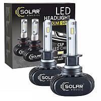 Светодиодные лампы SOLAR H1 12/24V 6000K 4000Lm 50W Seoul CSP (8101), фото 1