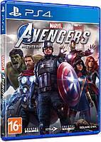 Игровой диск Marvels Avengers (Мстители) для PS4, фото 1