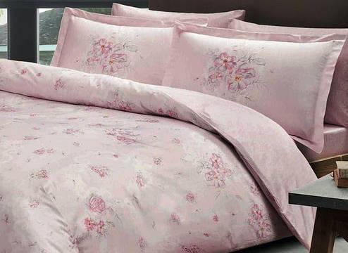 Постельное белье TAC DIGITAL SATEN Madeline двуспальный - евро, фото 2