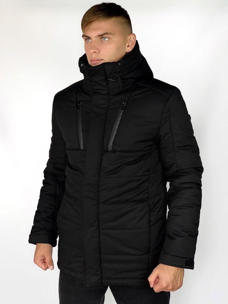 Зимняя Куртка Everest Intruder черная.