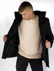 Зимняя Куртка Everest Intruder черная., фото 3
