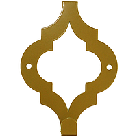 Настенный Крючок Glozis Morocco Bronze H-088 12 х 9см, фото 1