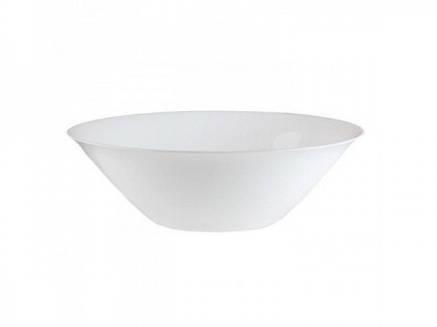 Большой белый салатник Luminarc Carine white 27 см (D2370), фото 2