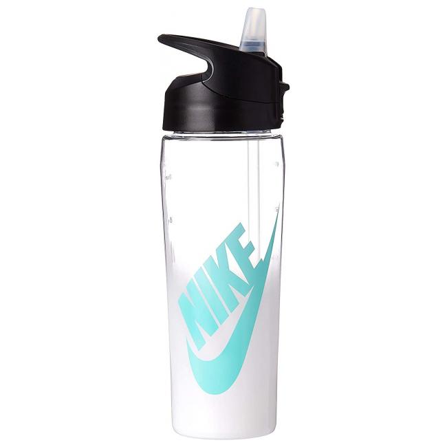 Бутылка для воды Nike TR Hypercharge Straw Bottle Graphic 709 мл White-Blue