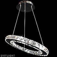 Світлодіодна люстра з кришталем 4112/1 Svitlight, фото 1