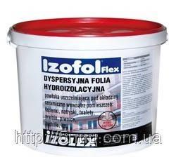 Izofol Flex (Изофоль Флекс) - полимерная гидроизоляционная мембрана (ведро -12кг)