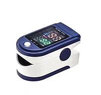 Пульсоксиметр електронный пульсометр на палец с монитором кислорода и пульса UKC Fingertip Pulse Oximeter LK87, фото 1