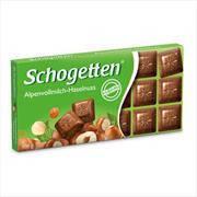 Молочный шоколад Schogetten with hazelnuts ,100 г, фото 2