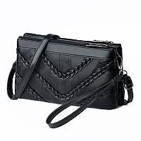 Женская сумка клатч натуральная кожа код 3-469, фото 1