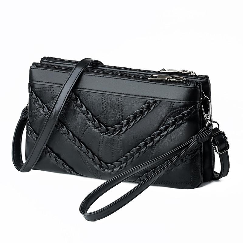 Женская сумка клатч натуральная кожа код 3-469