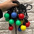 Цветные шарики Alphatrade d 3 см, 5 метров, 20 LED, фото 3