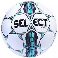Мяч футбольный SELECT CONTRA (белый-серый-голубой)