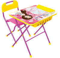 Комплект детской мебели стол с большим пеналом и стул