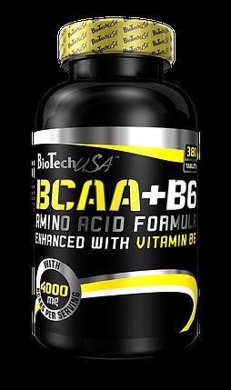 BCAA + B6 BioTech USA 340 tabs, фото 2