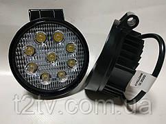 Фары LED WL-202 дальний свет 27W/9-32V/9LEDх3W2000Lm/6000K EP9 SP SW v2