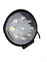 Фары LED Лидер ближний свет 27W 05-27W/9-32V 9LED FLOOD