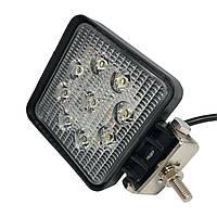 Фары LED Лидер дальний свет 27W 06-27W/9-32V/6000K/9LED