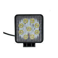 Фары LED WL-104 дальний свет 27W/9-32V/9LEDх3W/2000Lm/6000K EP9 SP SW