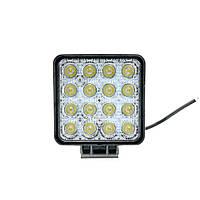 Фары LED WL-D3 дальний свет 48W/9-32V/16LEDх3W/3500Lm SP