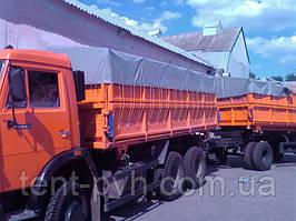 Тент ПВХ на зерновоз  3,0*12,0 м