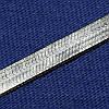 Цепь Снейк из серебра 55 см №7
