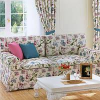 Ткань для мебели прованс в цветы