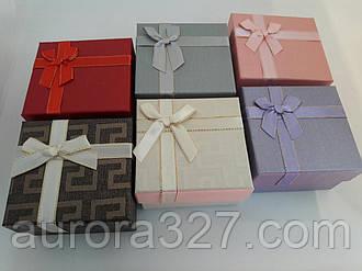 """Подарункова коробочка під годинник """"Геометрія з бантом"""" MIX"""