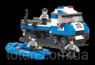 """Конструктор SLUBAN """"Полицейский спецназ"""" 202 дет, M38-B0186"""