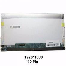 Матрица 15.6 Led normal FHD 1920x1080 40pin lvds разъем слева внизу (со стороны платы) нов