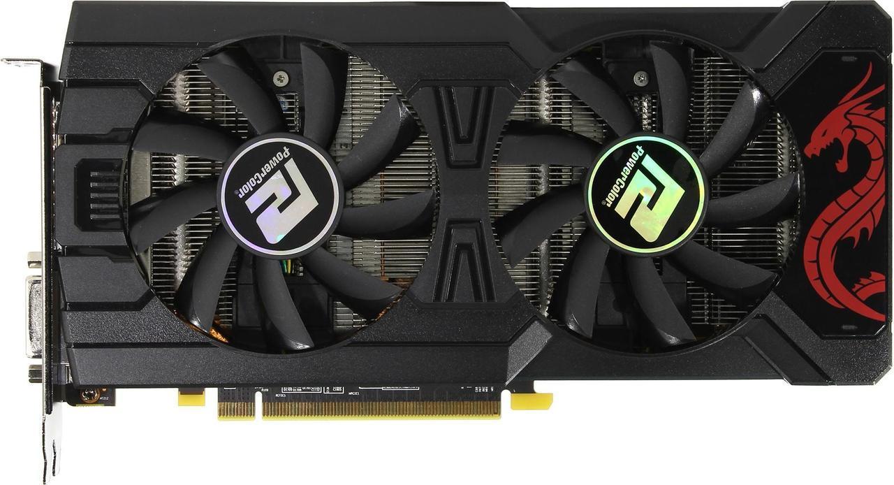 Видеокарта PowerColor AMD Radeon RX 470 (AXRX 470 4GBD5-3DHDM) Б/У