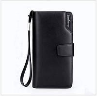 Мужской стильный кожаный клатч Baellerry Italia кошелек бумажник портмоне визитница