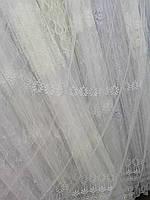 Тюль белый Турция, фото 1