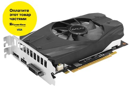 Видеокарта GALAX GeForce GTX 1050 OC 2GB 128bit GDDR5  Б/У