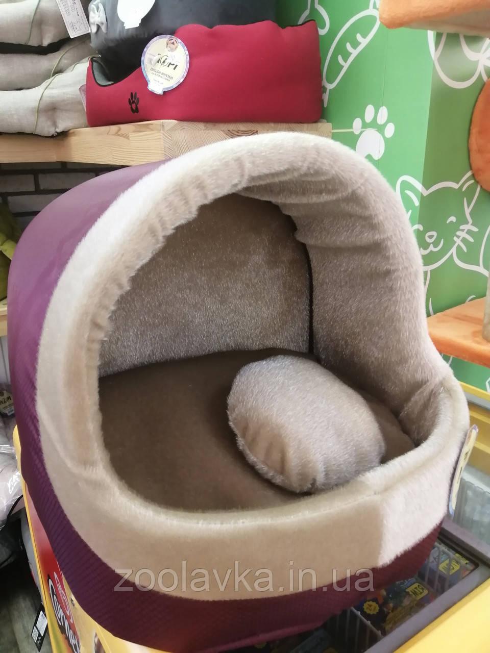 Будка для котов и собак Мех №2 425х375х375 Лори