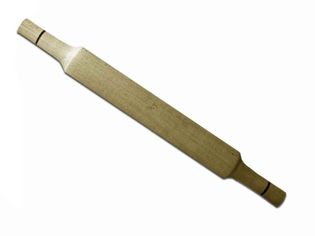 Скалка деревянная непропитанная 42 см с ручками