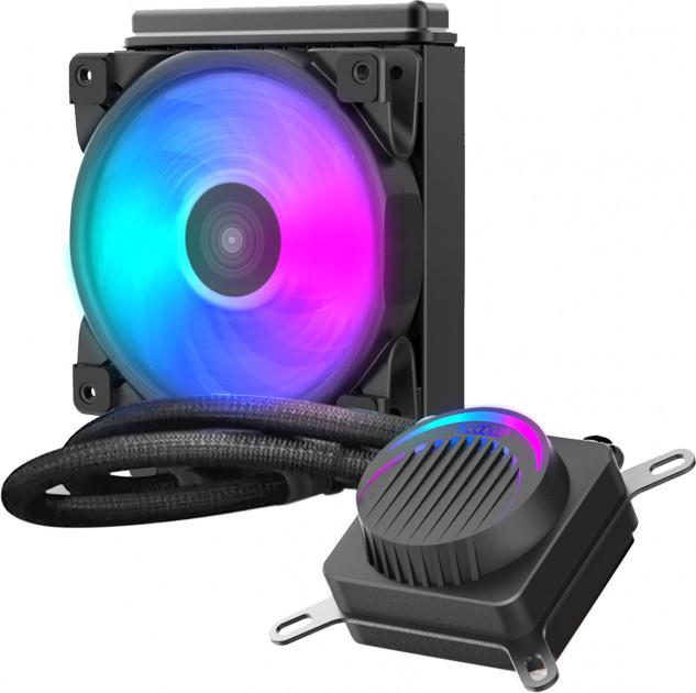 Водяное охлаждение PCCooler GI-AH120P Halo FRGB